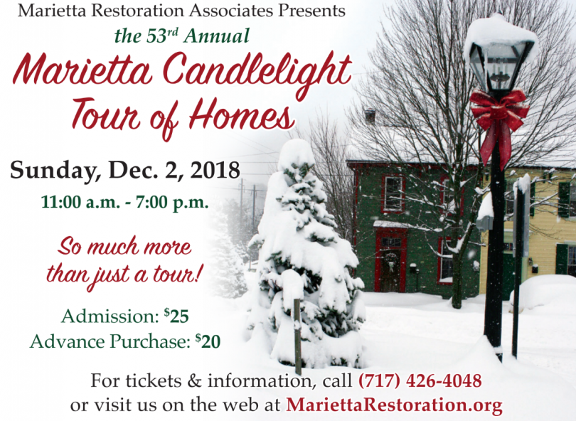 Marietta Christmas Tour Of Homes 2019 Candlelight Tour 2019 – Marietta, PA